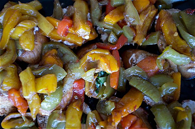2. Marinated Roasted Peppers