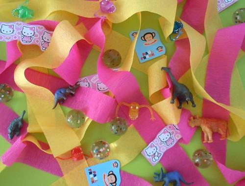 Surprise ball party favor guts