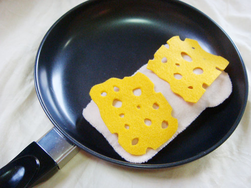 Felt Food - Grilled Cheese