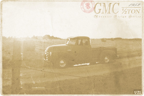 Vintage Photo of U21 - a 1952 GMC ½ Ton Truck