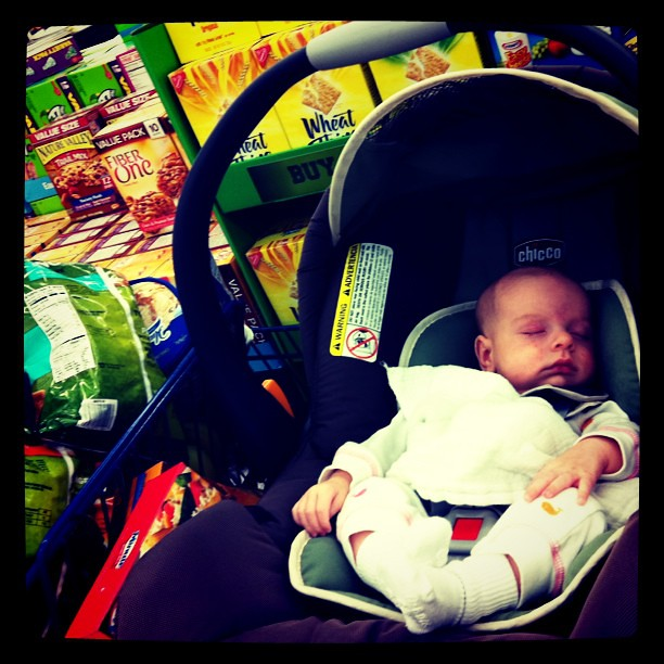 First grocery shopping trip!