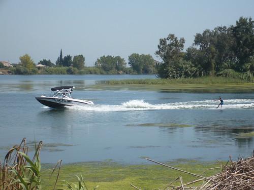 Esquiando en el Ebro