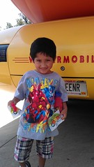 Spiderman Wienermobile