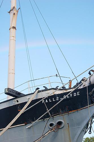 faint rainbow