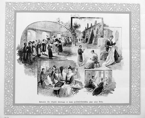 33. Sewing roomfor poor girls, Freta Street, 1889