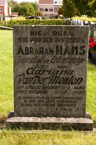 Abraham Hans graf