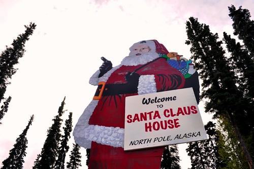 Welcome to Santa Claus House, North Pole, Alaska