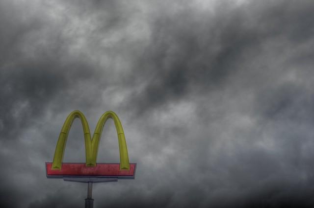 McDonalds Golden Arches Storm