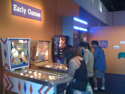 Early Pinball Games at Game On 2.0