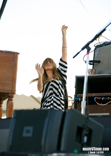 Grace Potter and the Nocturnals @ Kanrocksas 2011