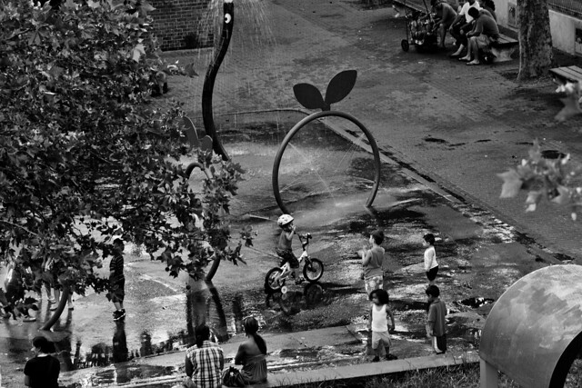 Playground After Rain