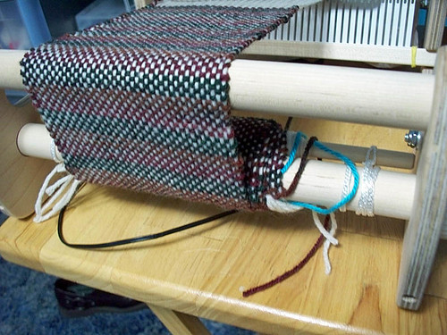 My first weaving on Cricket (wip)