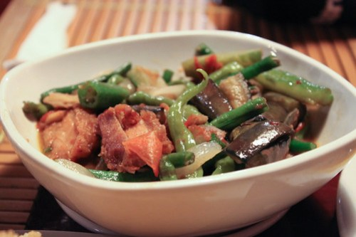 Pinakbet with Bagnet at Kusina Felicitas