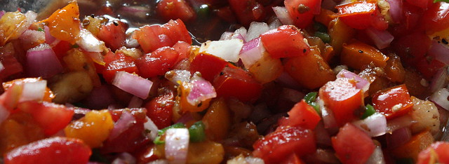 Heirloom Tomato Pico de Gallo