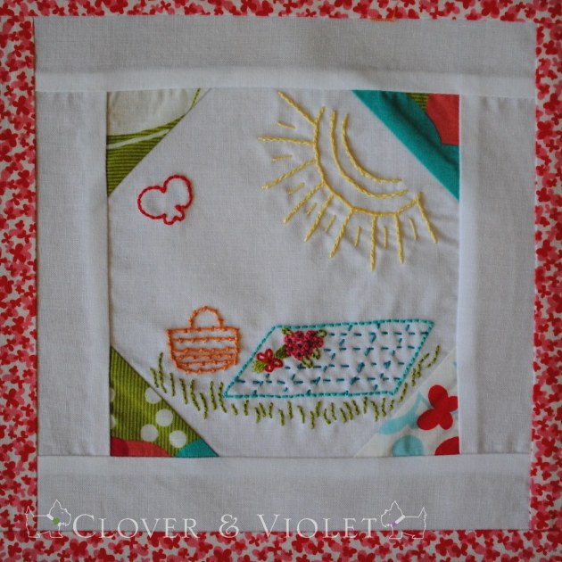 Embroidery 101: Block Six