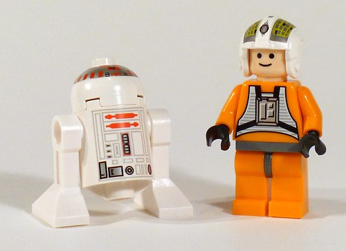 7658 Minifigures