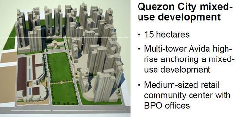 Ayala's QC mixed-use development