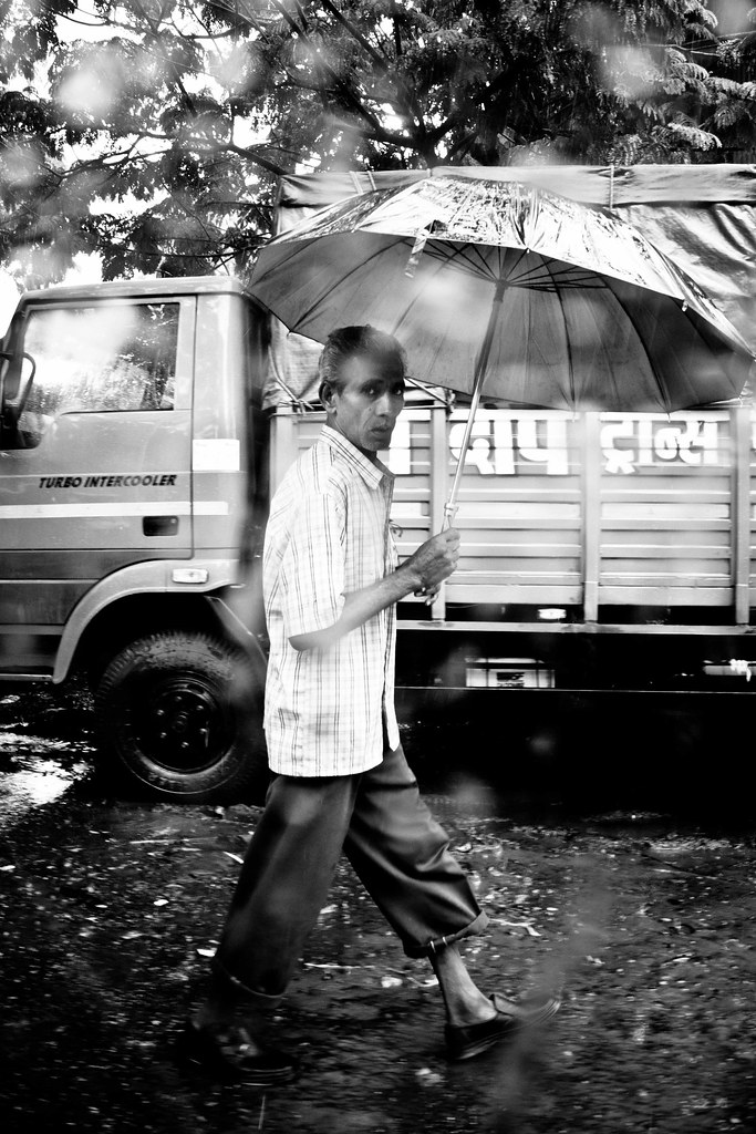 The Man With Umbrella