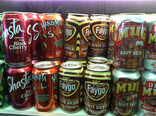 Faygo cans