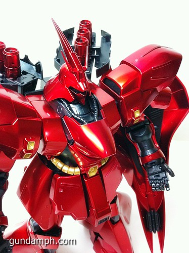 MG Sazabi Metallic Coating (Titanium-Like Finish) (57)
