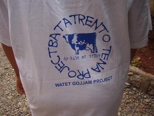 retro maglia del gemellaggio Trento-Bata