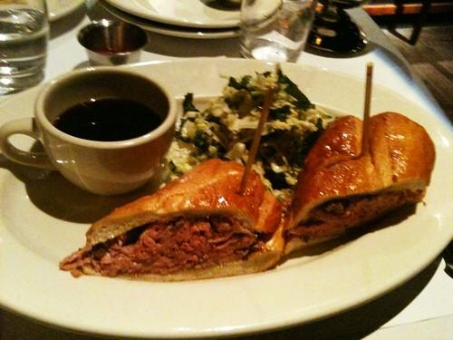 Famous Prime Rib French Dip Sandwich