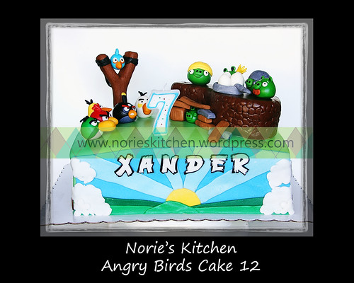 Norie's Kitchen - Angry Birds Cake 12 by Norie's Kitchen