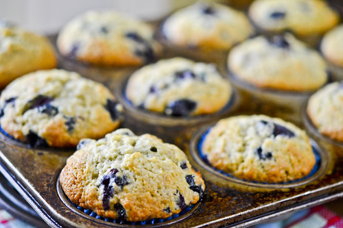 Banana Blueberry Muffins 12