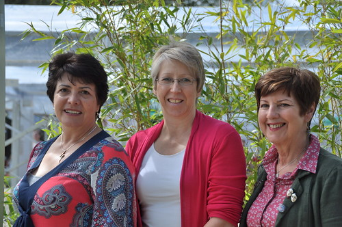 Linda Strachan, Nicola Morgan and Celia Rees