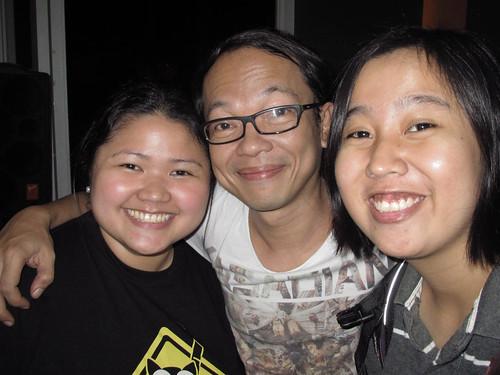 Me, Francis Reyes and Karla