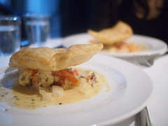 Half a Lobster Pot Pie, Luke's Oyster Bar & Chop House, Gemmill Lane