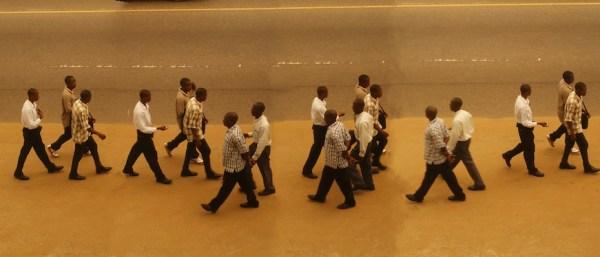 crossing!  Monrovia, Liberia, Africa