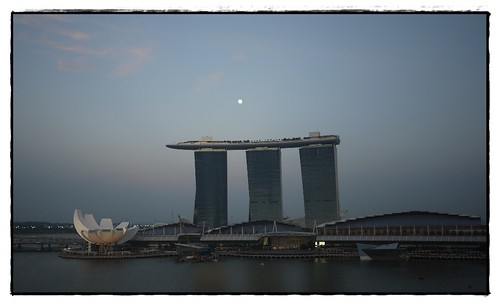 moon rise over MBS