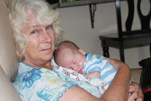 Sagan - August 20 - With Grandma