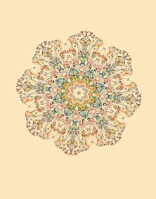 carnival wheel print Sarah Giannobile etsy