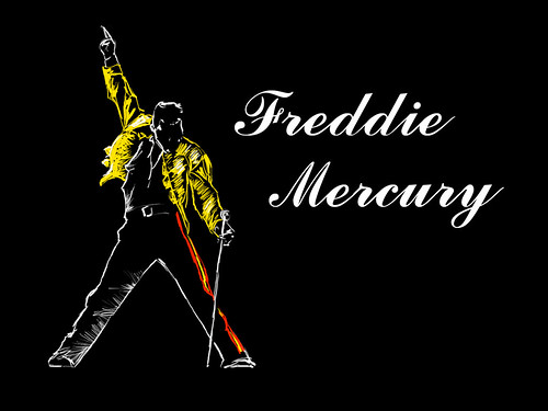 Wallpaper Freddie Mercury
