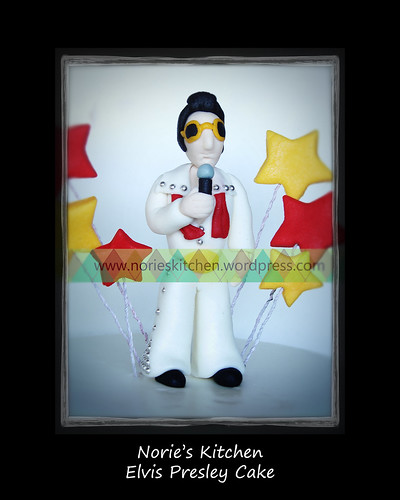 Norie's Kitchen - Elvis Presley Cake by Norie's Kitchen, on Flickr