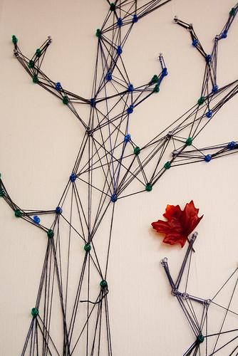 A tree made from string-4