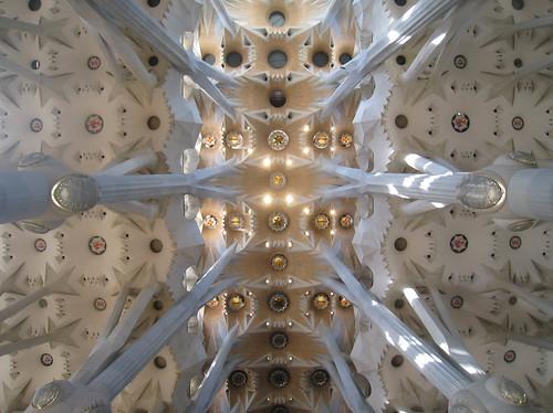 Sagrada Familia Ceiling