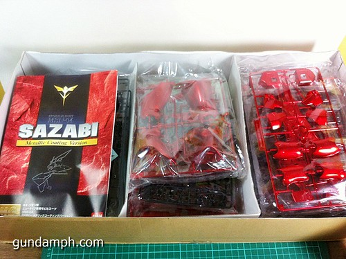 MG Sazabi Metallic Coating (Titanium-Like Finish) (5)