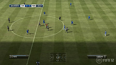 FIFA12: Xbox 360 telecam with hud