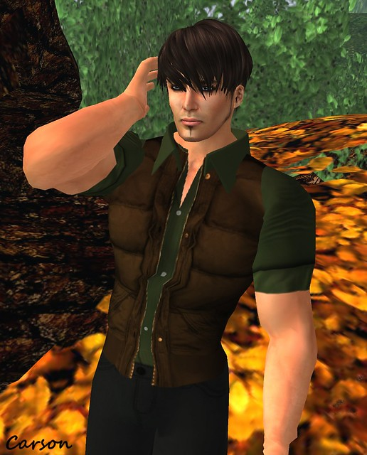 Hawker's House - Brown Bomber Vest MHO GG