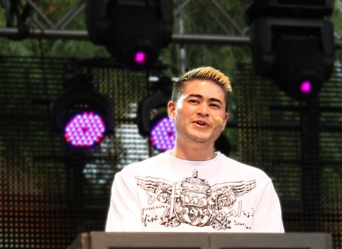 Thomas Beatie at Stockholm Pride 2011 opening
