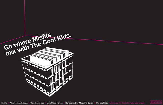 pandora misfits to cool kids