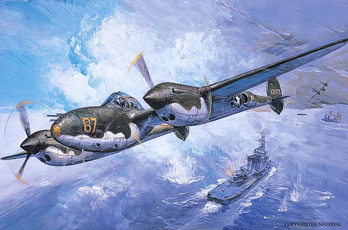 1942 ... P-38 'Lightning'  (USA) by x-ray delta one