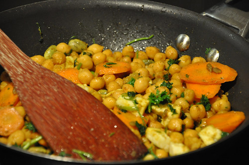 Chickpeas for Couscous