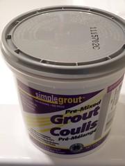 re-grout bathroom tiles - pix 02