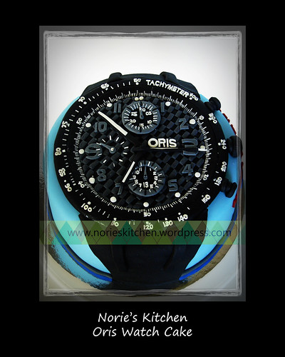 Norie's Kitchen - Oris Watch Cake by Norie's Kitchen