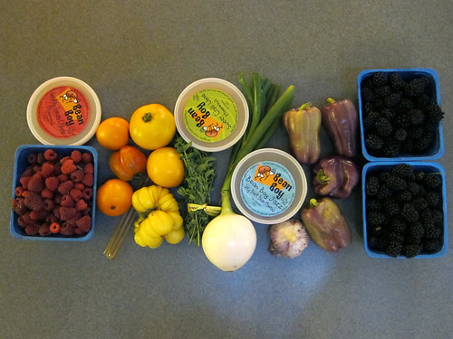 Farmer's Market Haul, August 13th
