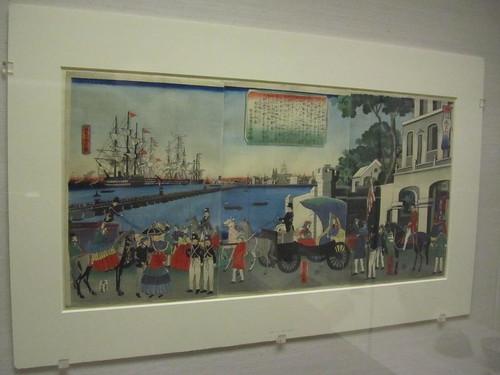 Japan exhibition: Port of London, England
